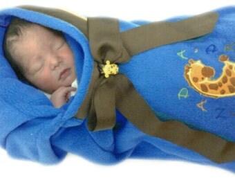 Baby Sleeping Bag Personalized - polar fleece fabric - free shipping - Sacos para dormir bebés  personalizados - Envío Gratis