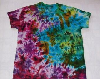 Tie dye T-shirts Crinkle Cotton