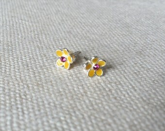 Sterling Silver Stud Earrings for a Girls, Stud Earrings for a Baby