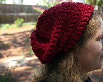 Wool Slouchy Hat