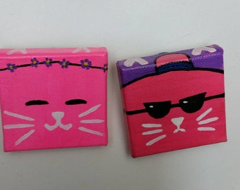 Itty Cat Magnets