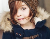 PATTERN Elodie Slouch slouchy beanie hat