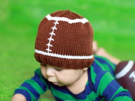 Knit Pattern Baby Football Hat : Football Hat Knit Football Hat Baby Football Hat Baby Photo