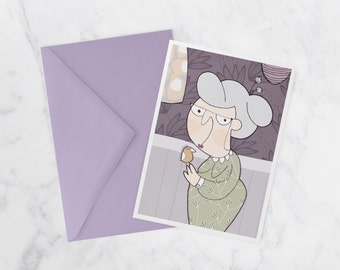 Grandma oiso, Note card