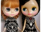 LADYBIRD HOUSE Blythe Outfit Black And White Dress - A