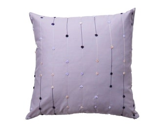 Lavender Pillow Cover - Purple and Lilac Cushion Cover - 20 x 20