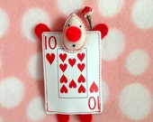 Red Card Guard Plushie (Alice in Wonderland)