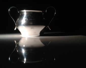 1945 Georg Jensen Sterling Silver Sugar Bowl