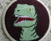 Charlie Velociraptor Patch (Jurassic World)