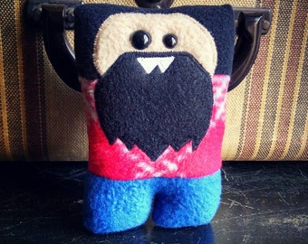 Lumberjack Nubbin - Black Beard - Made To Order