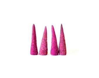 Wild Rose Incense Cones . handmade