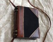 1985 Paloma Picasso book bag clutch shoulderbag bookbag leather vintage