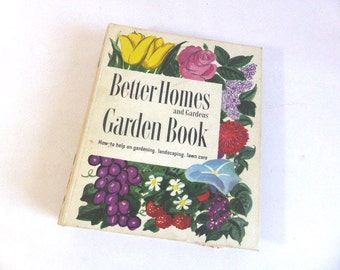 Lawn care book etsy Better homes and gardens planting guide