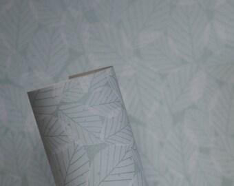 Beech Leaves Wallpaper - Mint