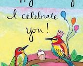 Greeting Card : I Celebrate You #112-C