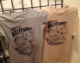 Women's Tee: Attack of the Killer Kraken !!!