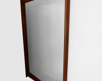 SOLD Tableau LARGE WALNUT Mirror by Kent Coffey