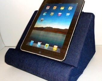 IPad or Book Stand for Your Lap / Soft and Light / The ReadCliner / Holds Your Books and Tablets Wobble Free