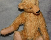 Mohair Teddy Bear Kit: Pattern and Distressed Schulte Mohair
