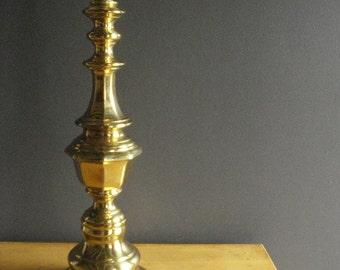 Classy Brassy - Vintage Brass Lamp