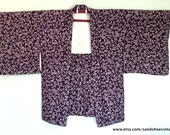 SALE 1950s HAORI KIMONO Jacket Boho Japanese