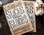 Sticks & Stones - art zine