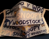 Snoop 'N Woody -Germ Freak Designer Face Mask by Dena Tyson