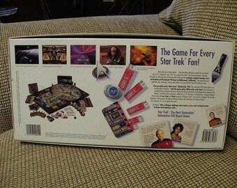 Star Trek Next Generation Interactive VCR Board Game NIB
