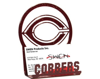 Concordia Cobbers Metal Business Card Holder
