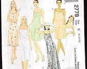 Easy McCall's 2778 Fashion Basics  Misses' Misses-Petite Dress in Three Lengths