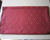 3.33 yds Decorator Fabric Red Diamond