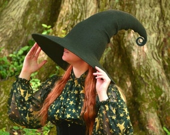 Witch Hat. Wizard Hat. Fantasy Hat. Cosplay Hat. LARP.