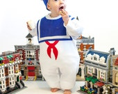 Toddler Halloween Costume, Marshmallow Man Childrens Costume, Stay Puft, Warm Version, Funny Kids Costume, Baby Geekery, Halloween Costume,