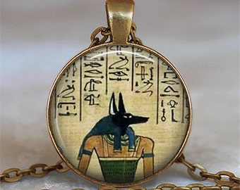 Anubis pendant, Anubis necklace, Egyptian Lord of the Underworld, Egyptian jewelry, Anubis jewelry, goth jewelry, key chain key fob