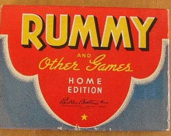 Vintage Game of Rummy