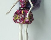 Custom Doll Fashion Dress Shoes and Glasses for Monster High Doll by TorresDesigns - Ready to Ship - Free Shipping