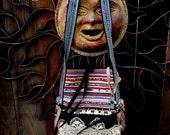 Ethnic Messenger Bag, Vintage Ethnic Bag, Bohemian, Gypsy, Tribal