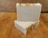 Piece of Gose (made with Boulevard Hibiscus Gose) Hops in the Shower Beer Soap