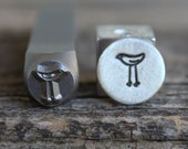 Love Bird-Tall-Metal Stamp-8mm Size-Steel Stamp-New Metal Design Stamps-by Metal Supply Chick