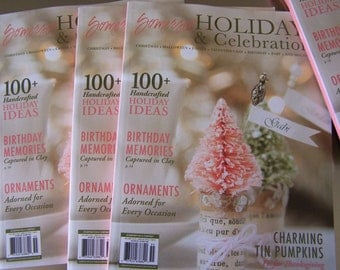 NEW Fall Winter 2015 Somerset Holidays and Celebrations Craft Hobby Mixed Media Art DIY Tips & Projects Gifts to create inspiring issue SVF