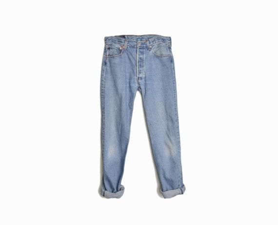 Vintage 90s Levi's 501 Boyfriend Jeans - W 32 L 32