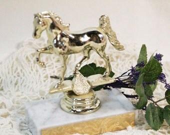 Vintage Horse Show Trophy, Equestrian Award Trophy, 1988