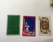 Vintage Personal Finance Company of New York Pinochle Card Deck Complete Set 1940s