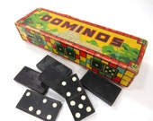 Capital Dominoes Game Vintage Family Game