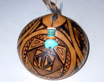 San Ildefonso Sampler Gourd