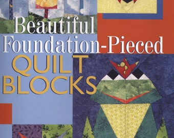 Beautiful Foundation-Pieced Quilt Blocks by Mary Jo Hiney TIB12295