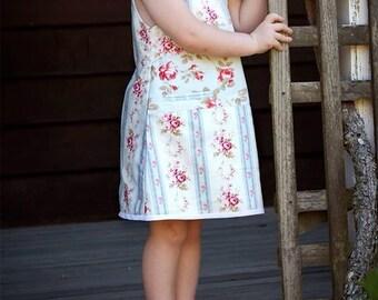 Twist Shift PDF Sewing Pattern Size 2-8 Ainslee Fox Boutique Patterns Play Dress