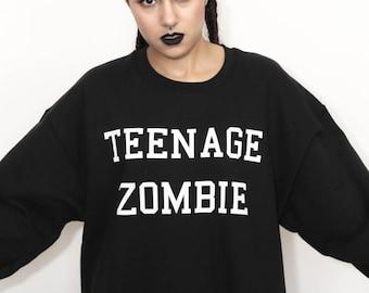 Black Teenage Zombie Sweatshirt All Sizes