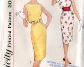 Simplicity 2979 Vintage 1960s Teen Junior Dress B32
