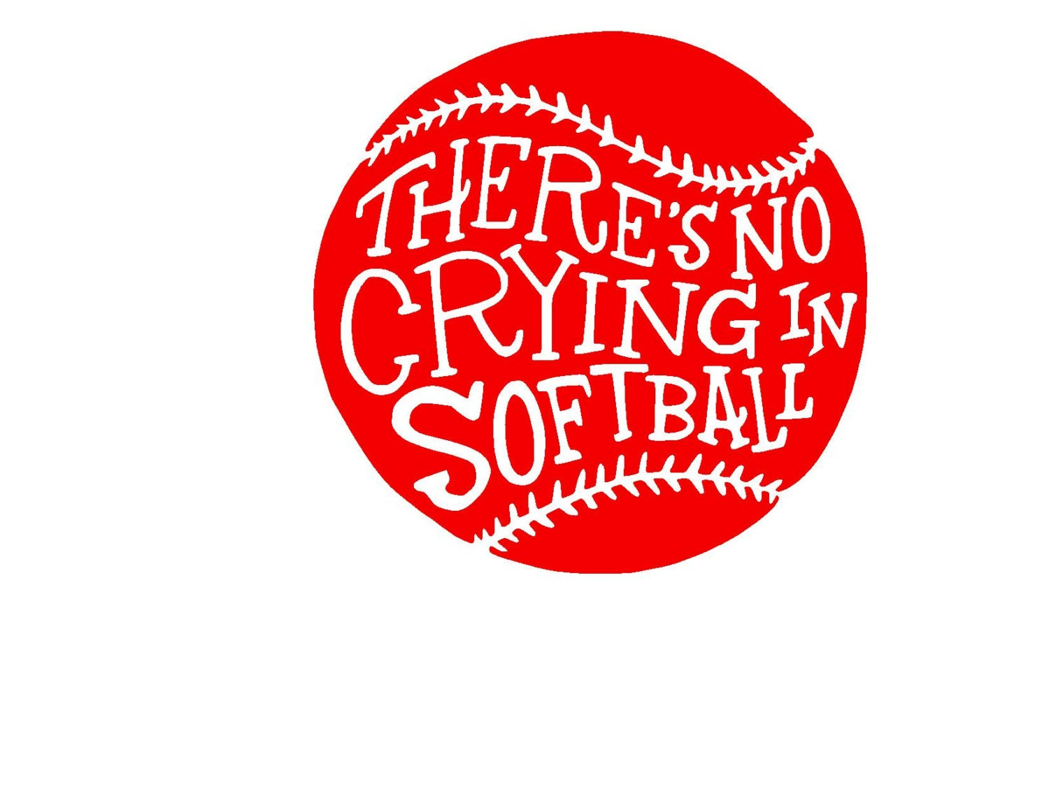 Design Space Software Download There S No Crying In Softball Svg Print Dxf Or